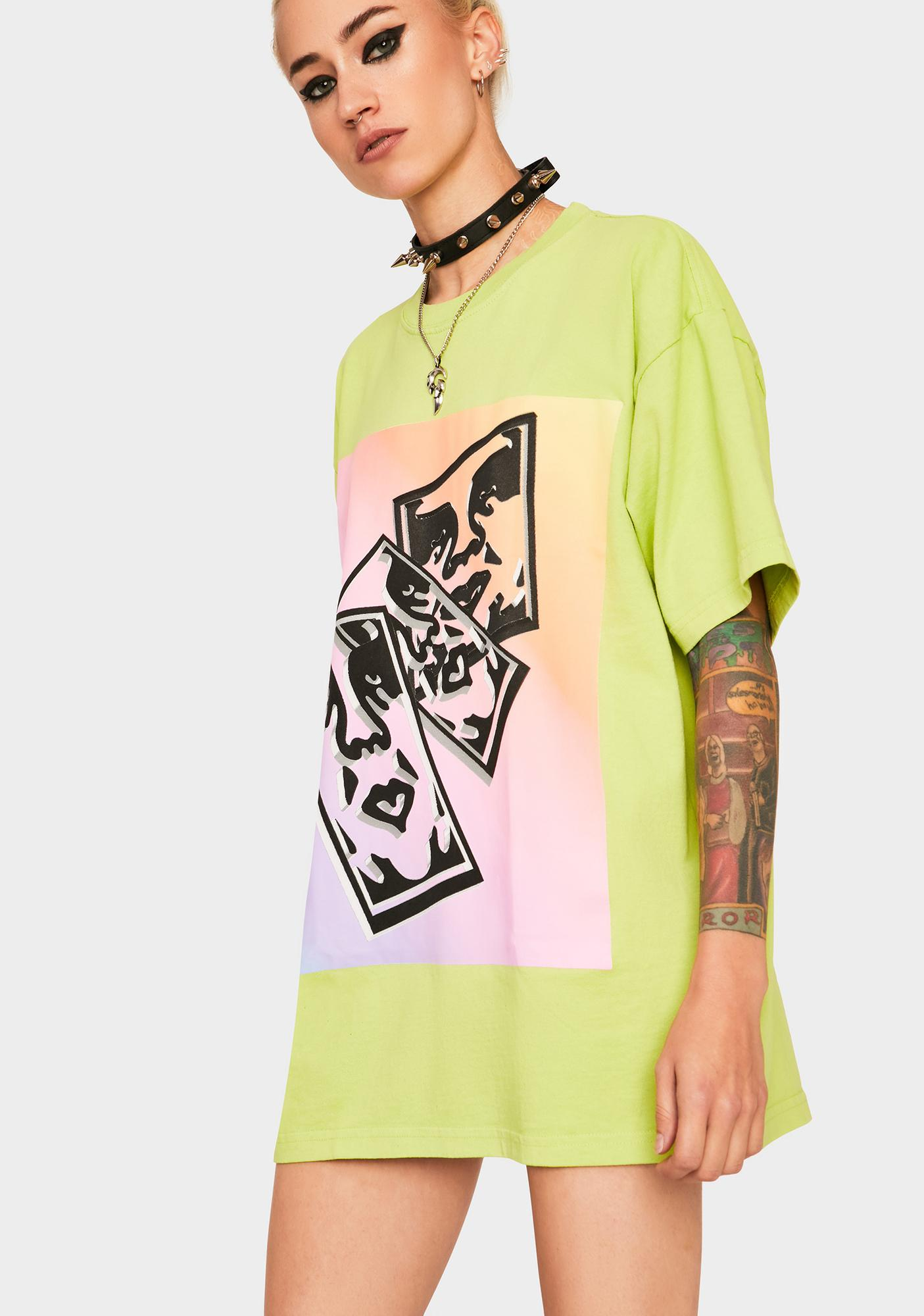 Obey Chaos & Entropy Graphic Tee
