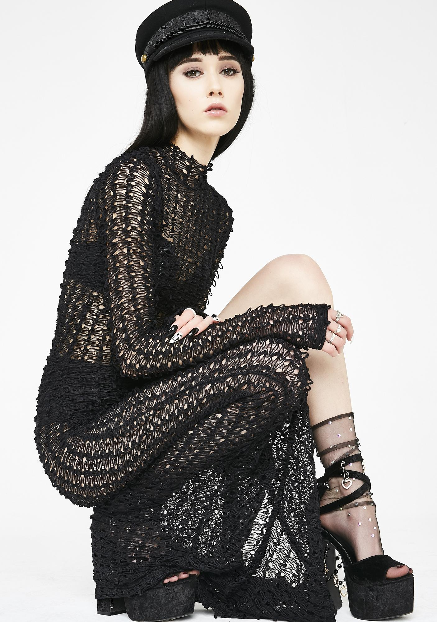 Kiki Riki Darkness Desired Maxi Dress