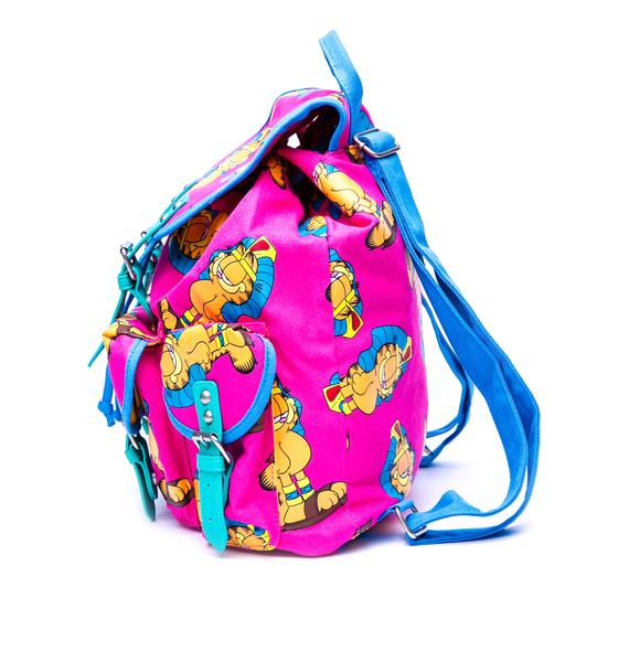 Lazy Oaf x Garfield Buckle Bag