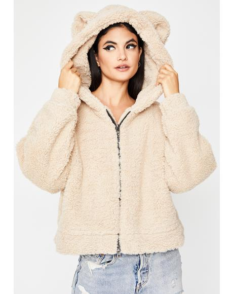 Total Softy Teddy Jacket