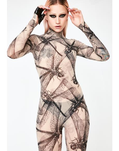 Dragoness Sheer Catsuit