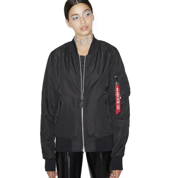 Alpha Industries L-2B Dragonfly Blood Chit Jacket