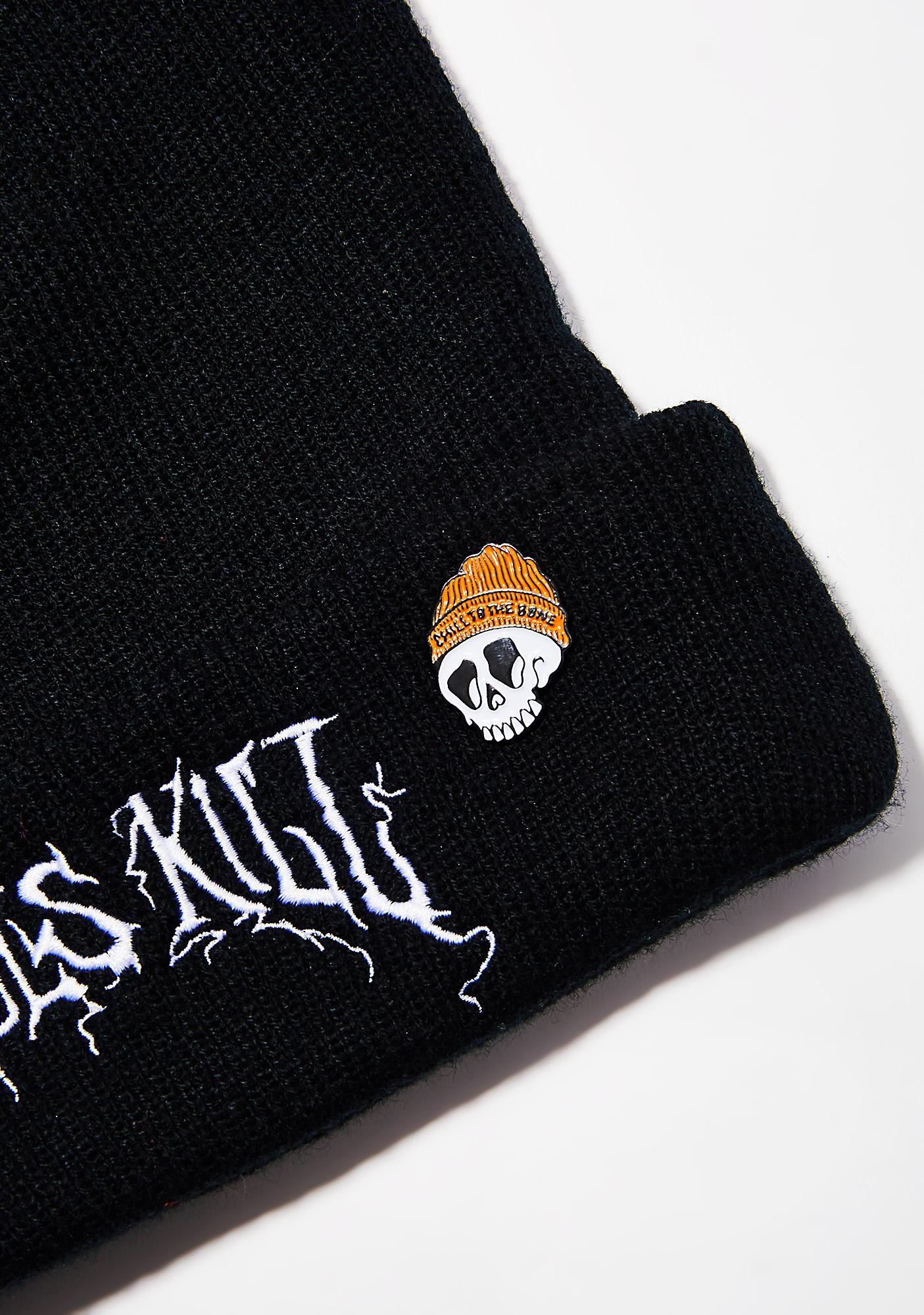 Slushcult Chill To The Bone Pin