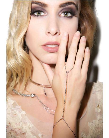 The Anastasia Silver Handchain