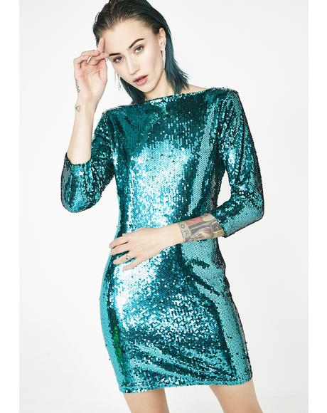 Glamorous Bliss Sequin Dress