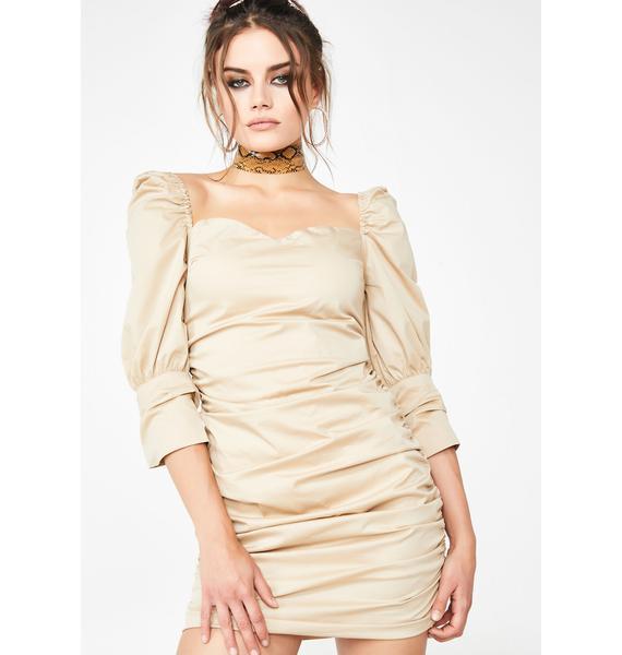 Cafe Belle Ruched Dress