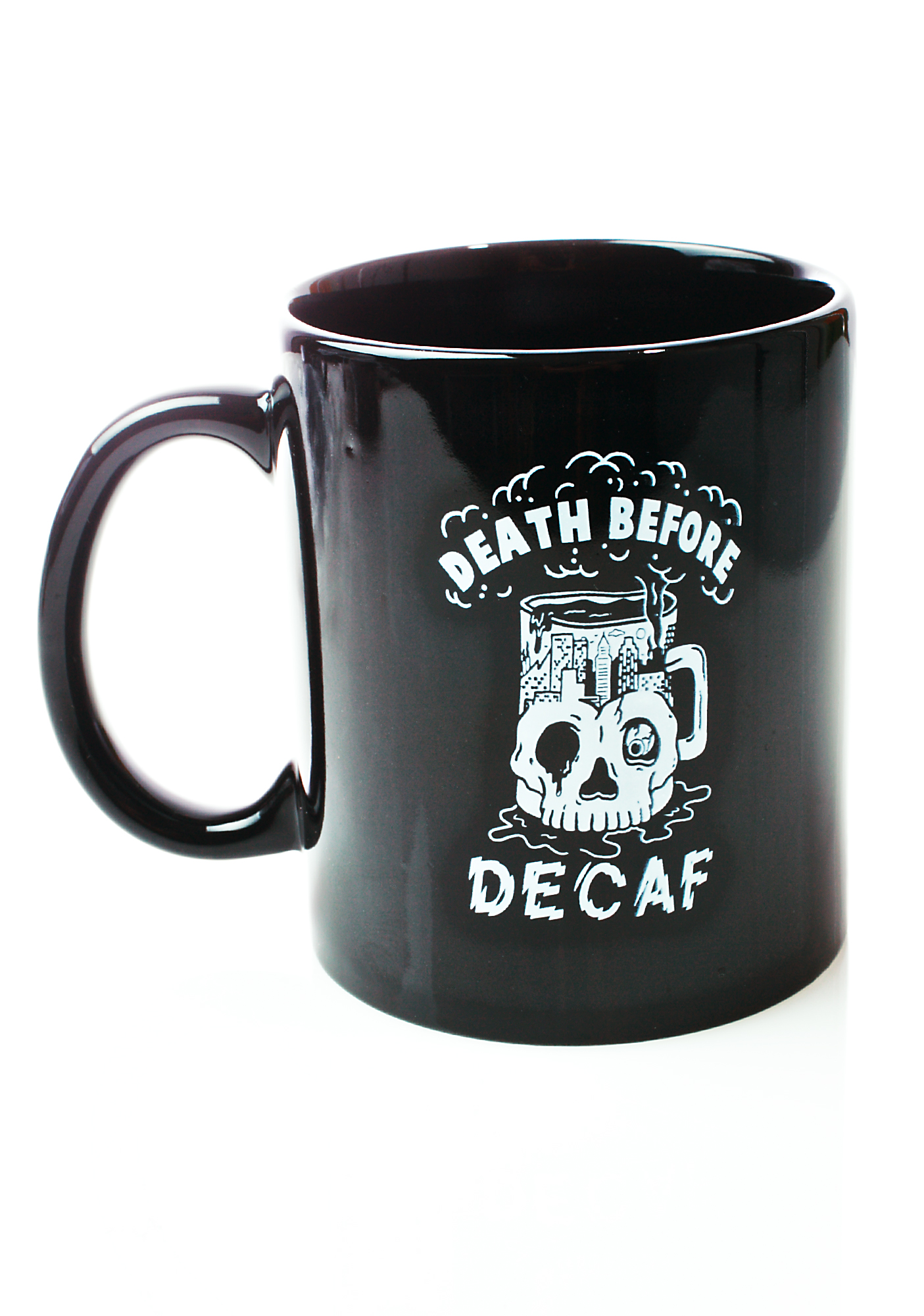 Black Skeleton Coffee Mug