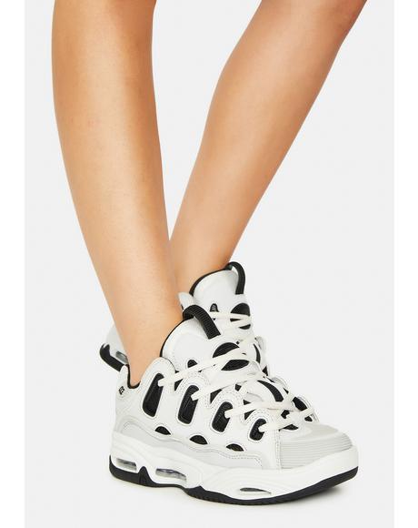 Black & White D3 2001 Skate Shoes