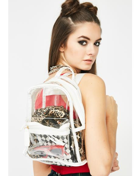 Chill Clear Crazze Mini Backpack