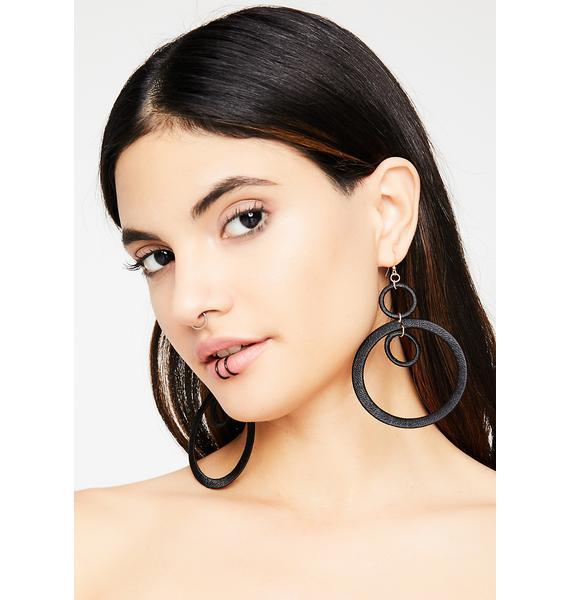 Modern Gurl Hoop Earrings