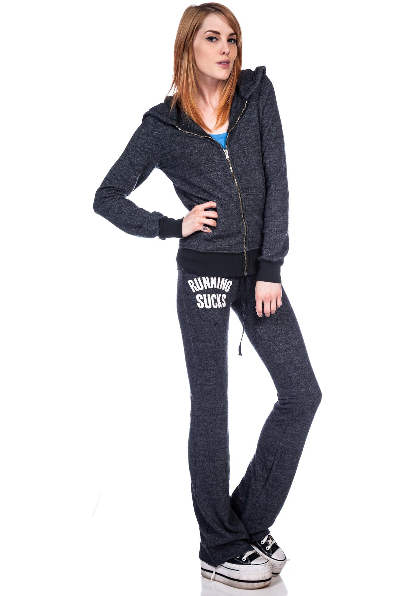 Wildfox Couture Running Sucks Wildfox Track Suit Jacket