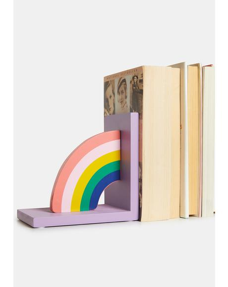 Rainbow Tales Bookends