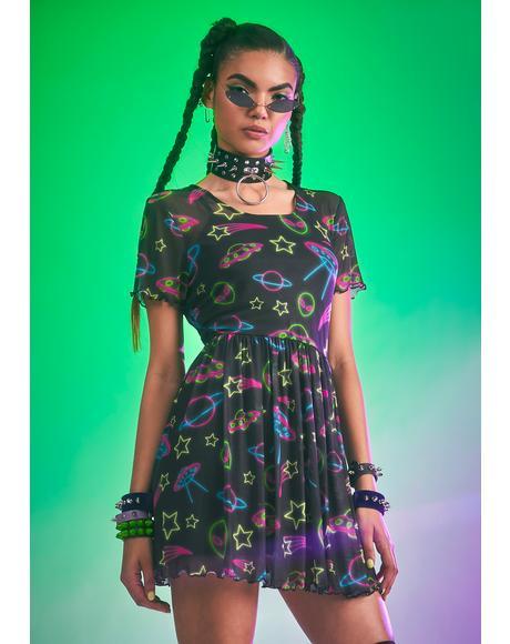 Ruled By Venus Babydoll Dress
