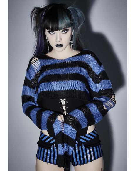 Livid Super Creep Striped Sweater