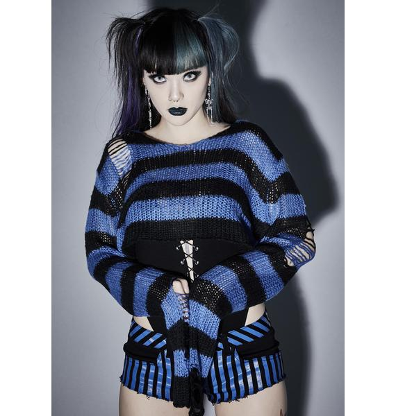 Widow Livid Super Creep Striped Sweater