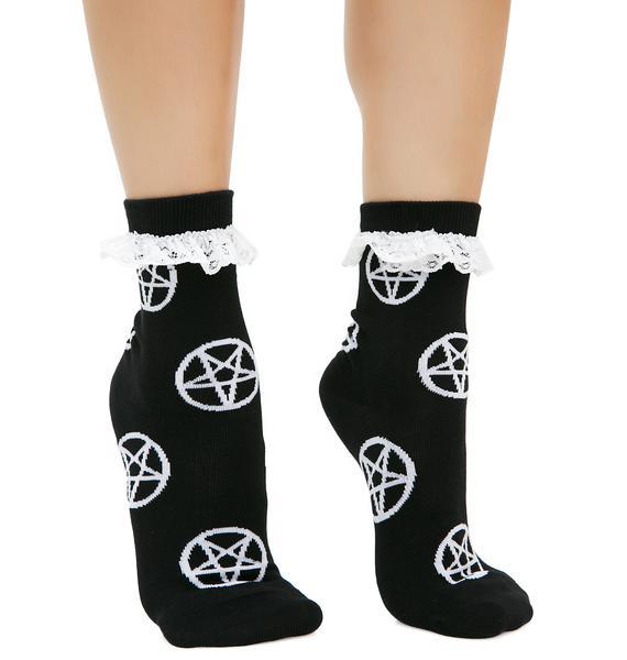 Killstar Witchy Bitchy 3-Pack Socks