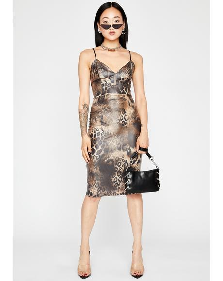 Shameless Animal Bodycon Dress