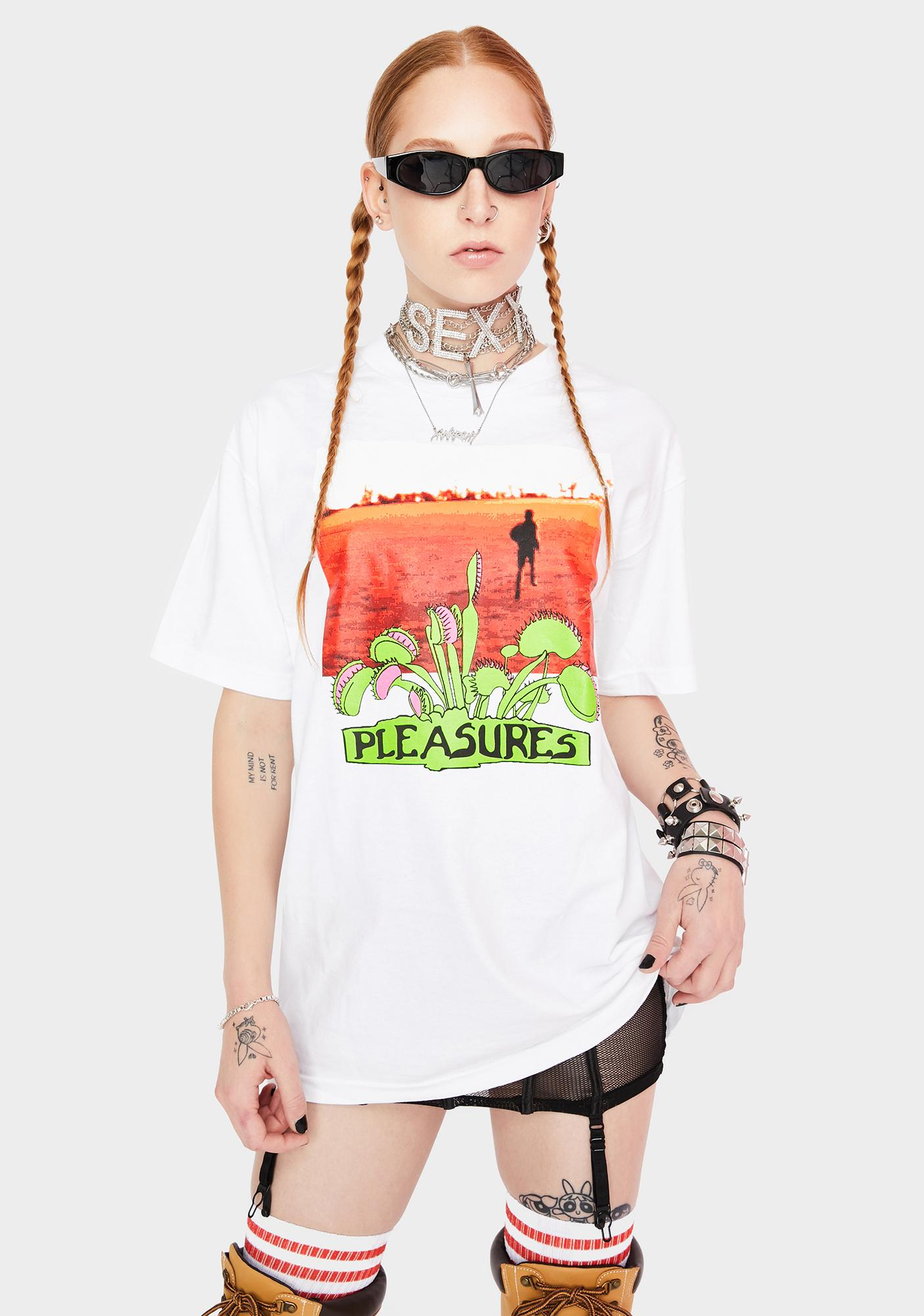 Pleasures Trapped Graphic Tee