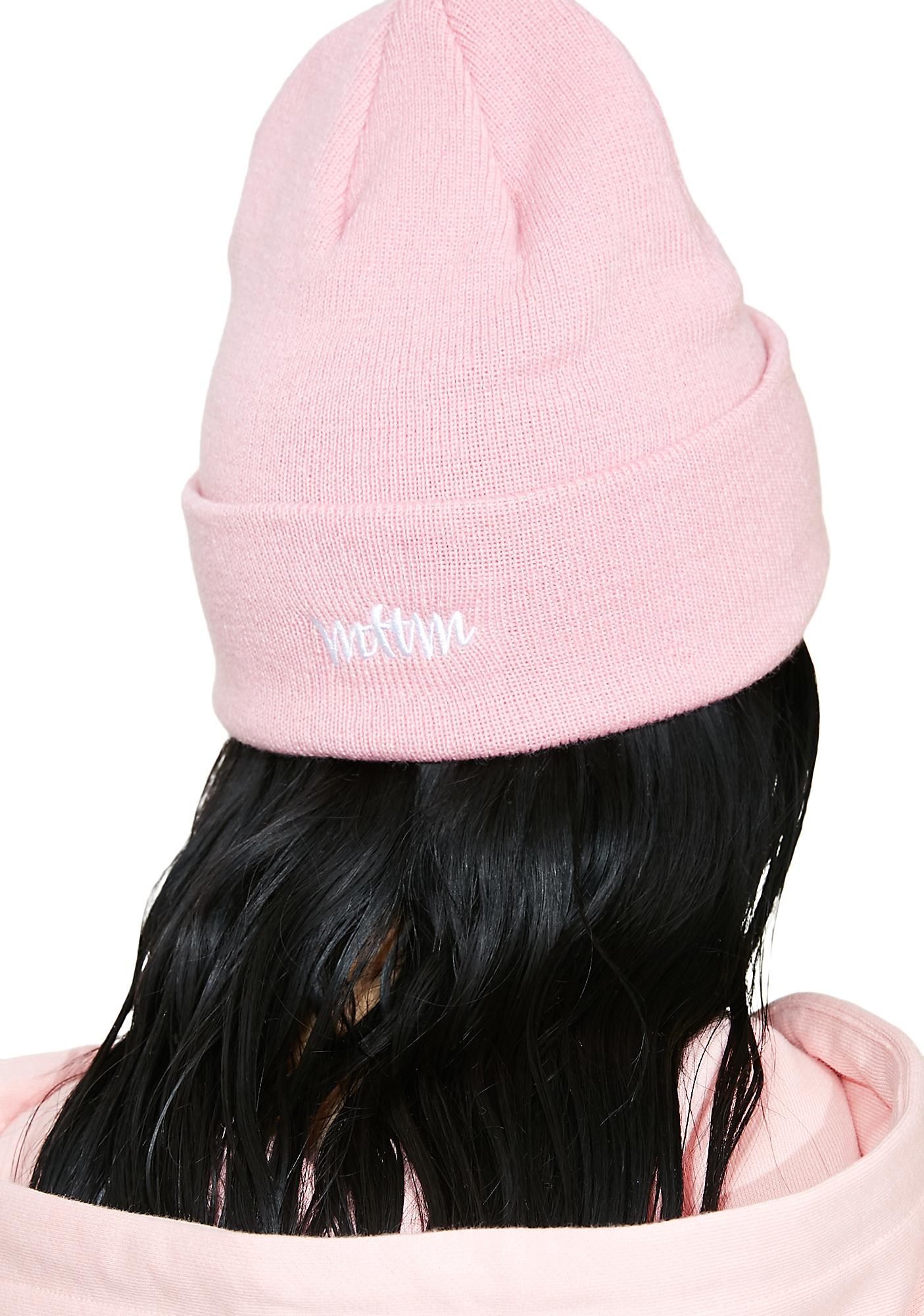 Married to the Mob x Penthouse Logo Beanie
