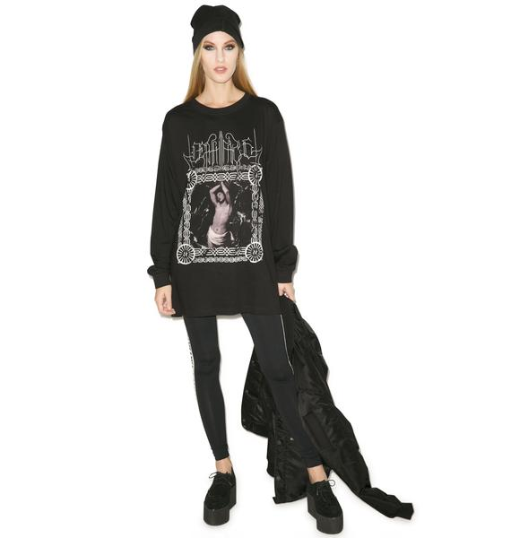 Long Clothing Death Face Long Sleeve