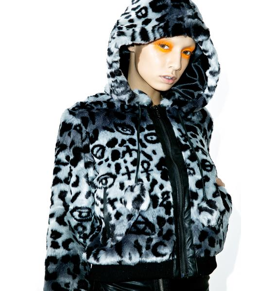 Killstar Sinergy X Marks The Spot Fur Bomber
