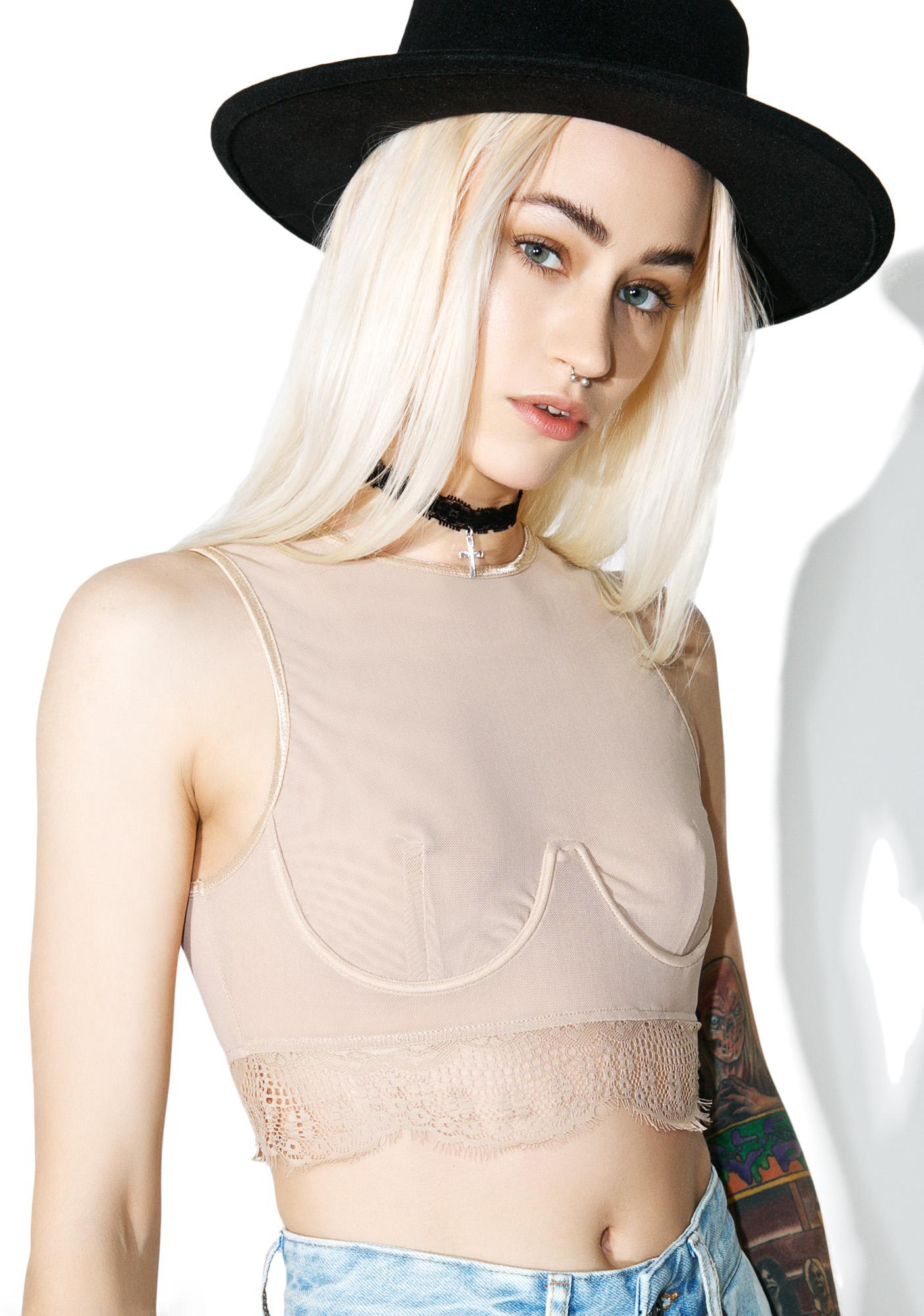 Bare Delirious Crop Top