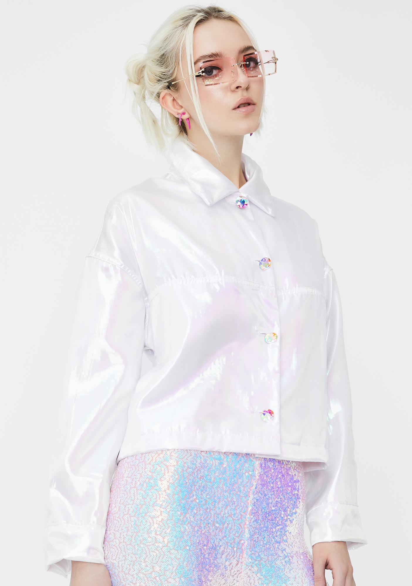 Sparkl Fairy Couture Fairy Dust Iridescent Jacket