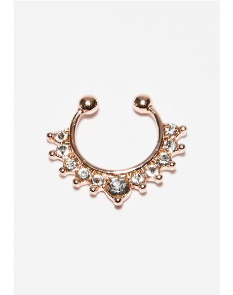 Open Minded Septum Ring