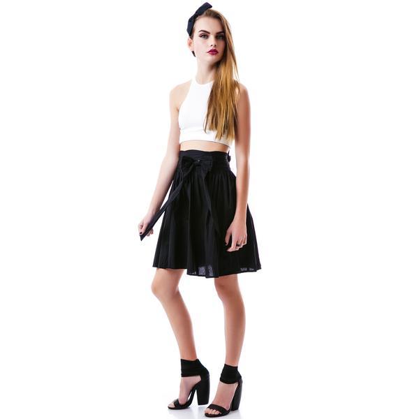 Sourpuss Clothing Swing Life Away Skirt