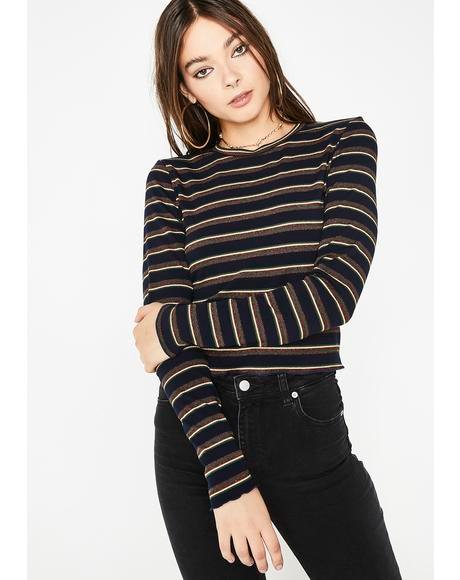 Royal Best Ya Never Had Stripe Top