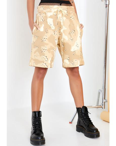 Nerm Camo Sweat Shorts