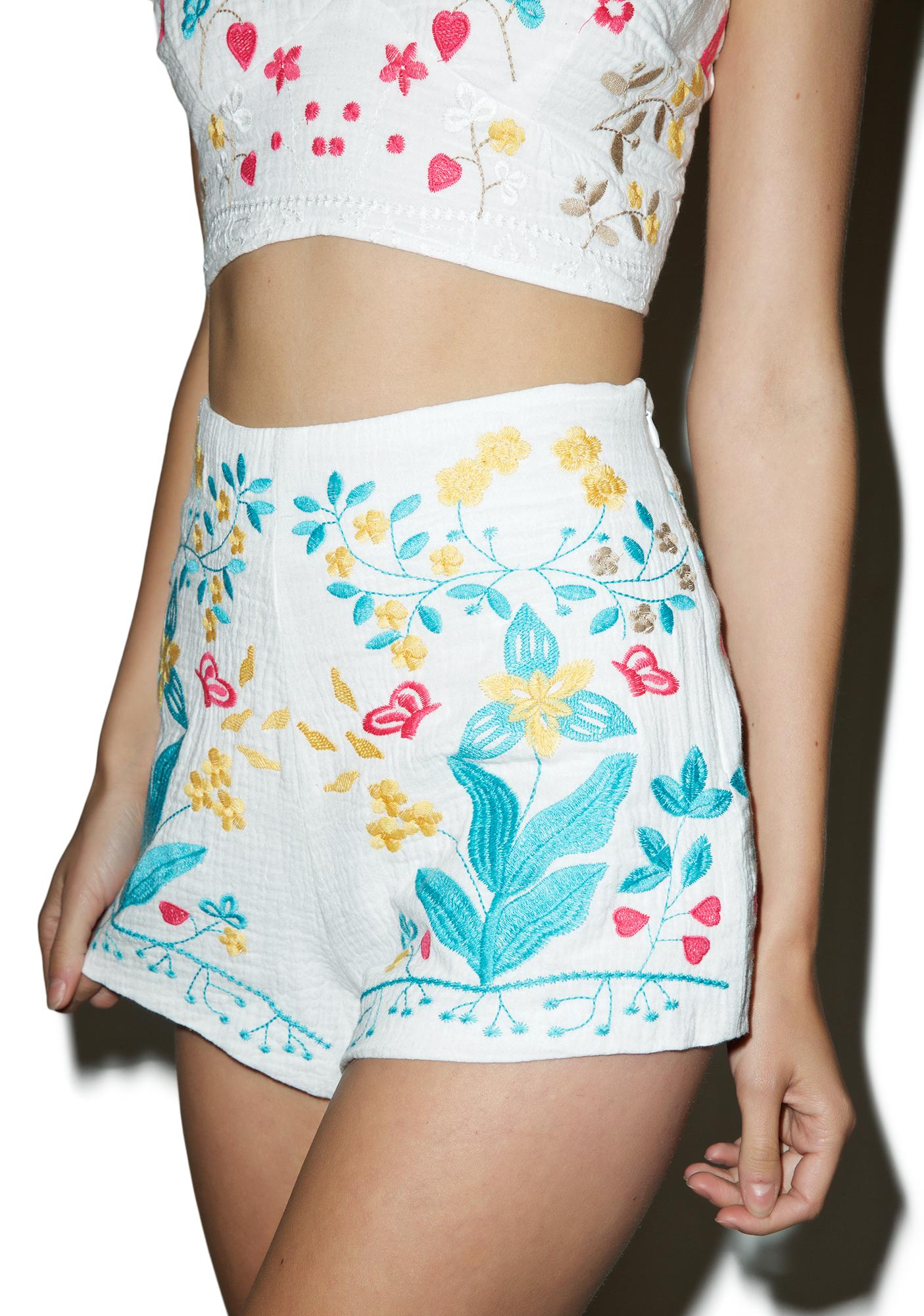 Bright Bloom Shorts
