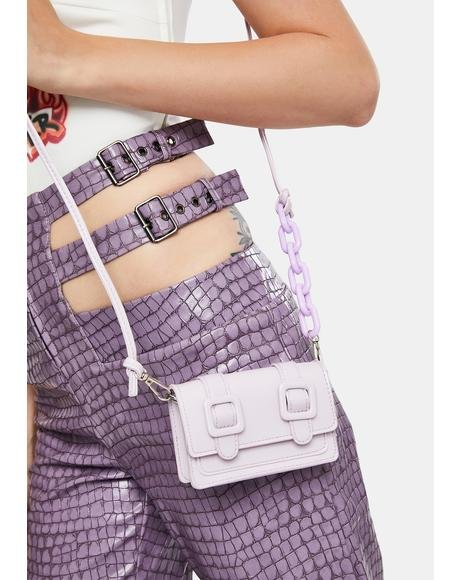 Lilac My Mini Me Crossbody Bag