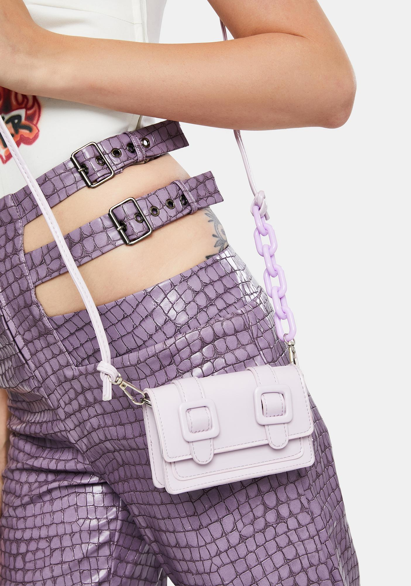 Lilac My Mini Me Crossbody Bag