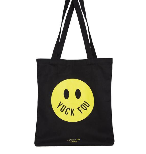 Skinnydip Yuck Fou Tote Bag