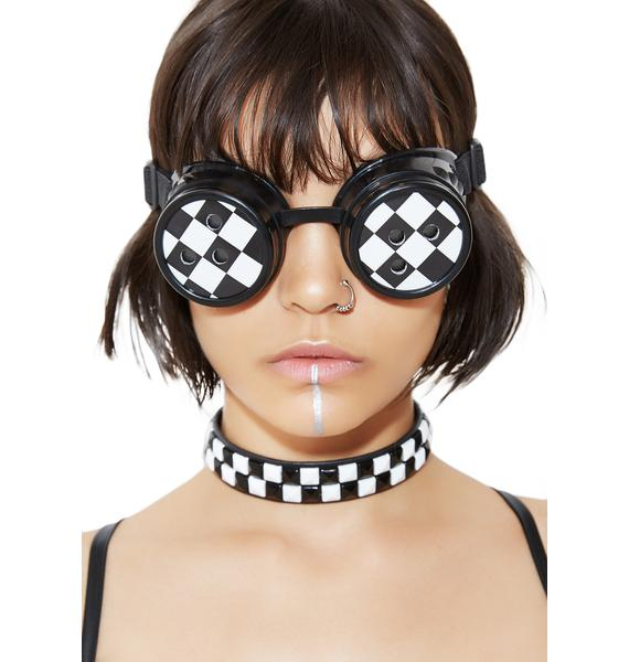 Onyx Deadly Doo-Wop Goggles