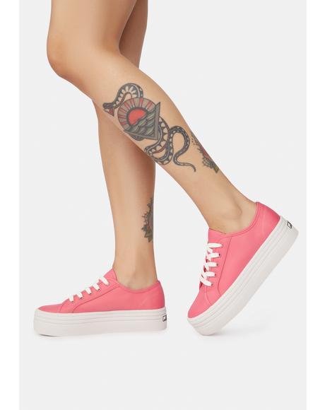 Diva Bobbi Platform Sneakers
