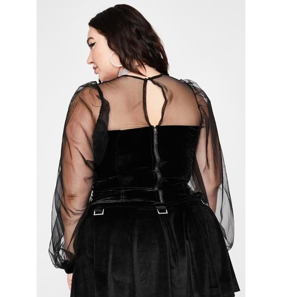Your Wicked Wonder Corset Blouse