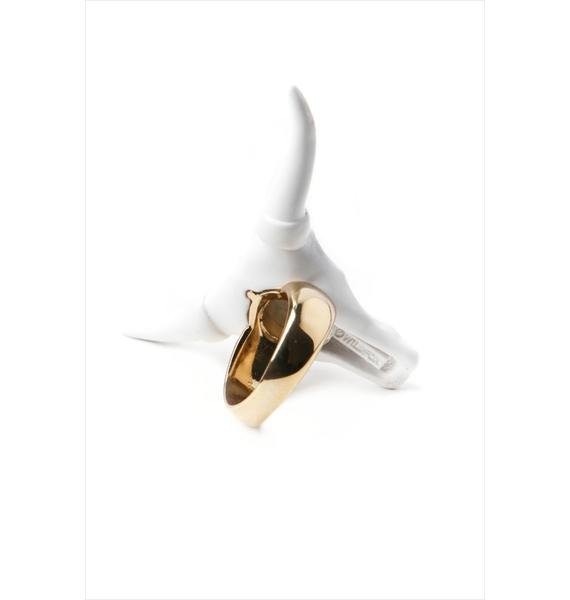 Wildfox Couture Cowskull Ring