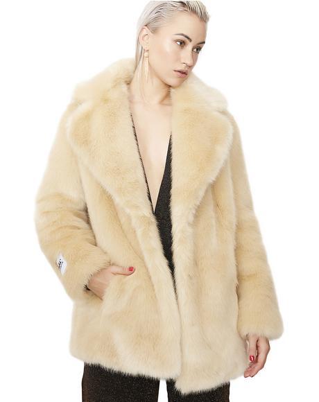 Blonde Heather Coat