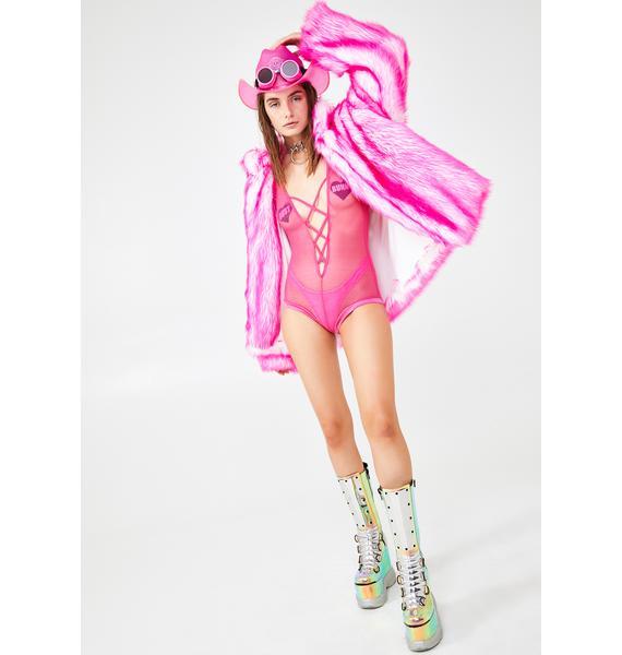 Wild N' Out Fishnet Bodysuit