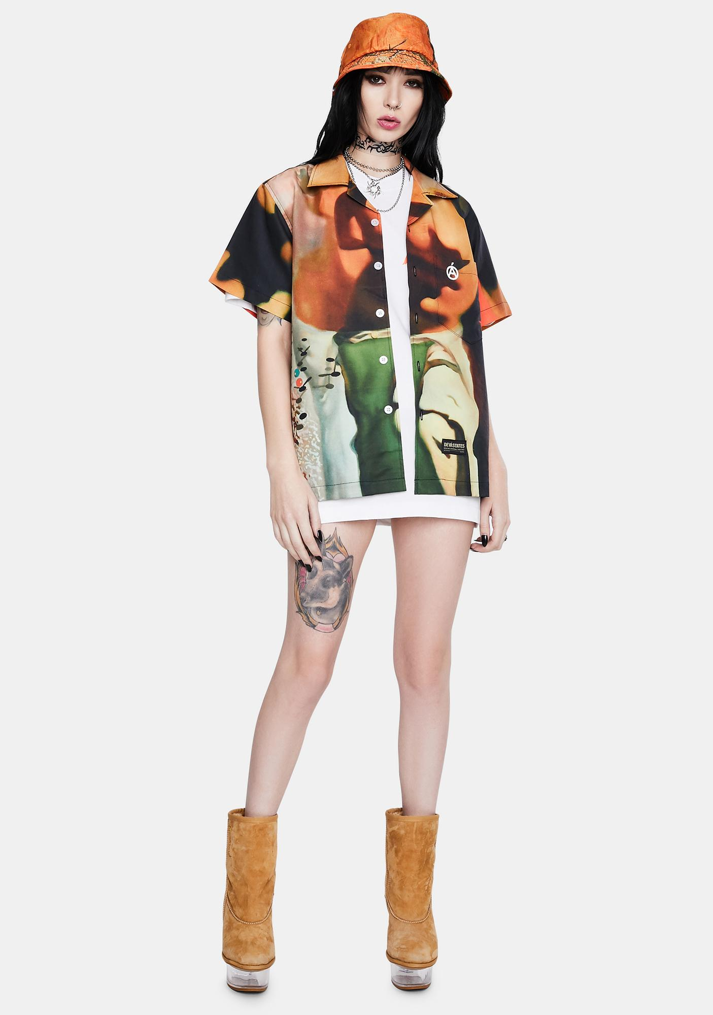 Deva States Fractal Souvenir Shirt