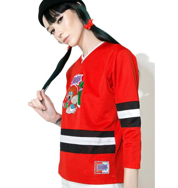 Vintage Rugrats '96 Hockey Jersey