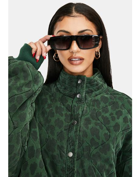 Paparazzi Posse Oversized Rectangle Sunglasses