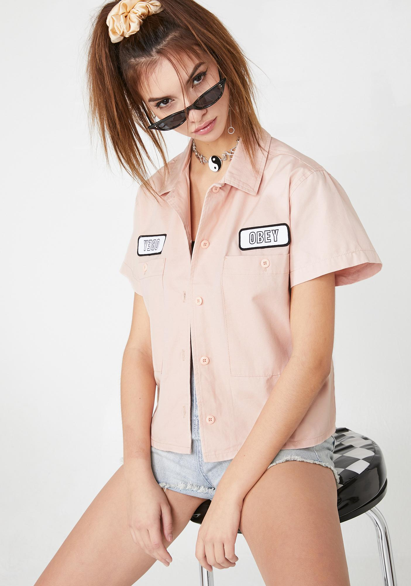 Obey Static Work Shirt