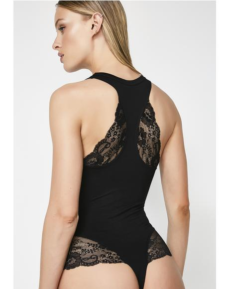 Happy Ending Lace Bodysuit