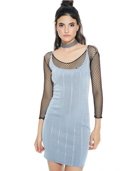 Smokescreen Bandage Bodycon Dress