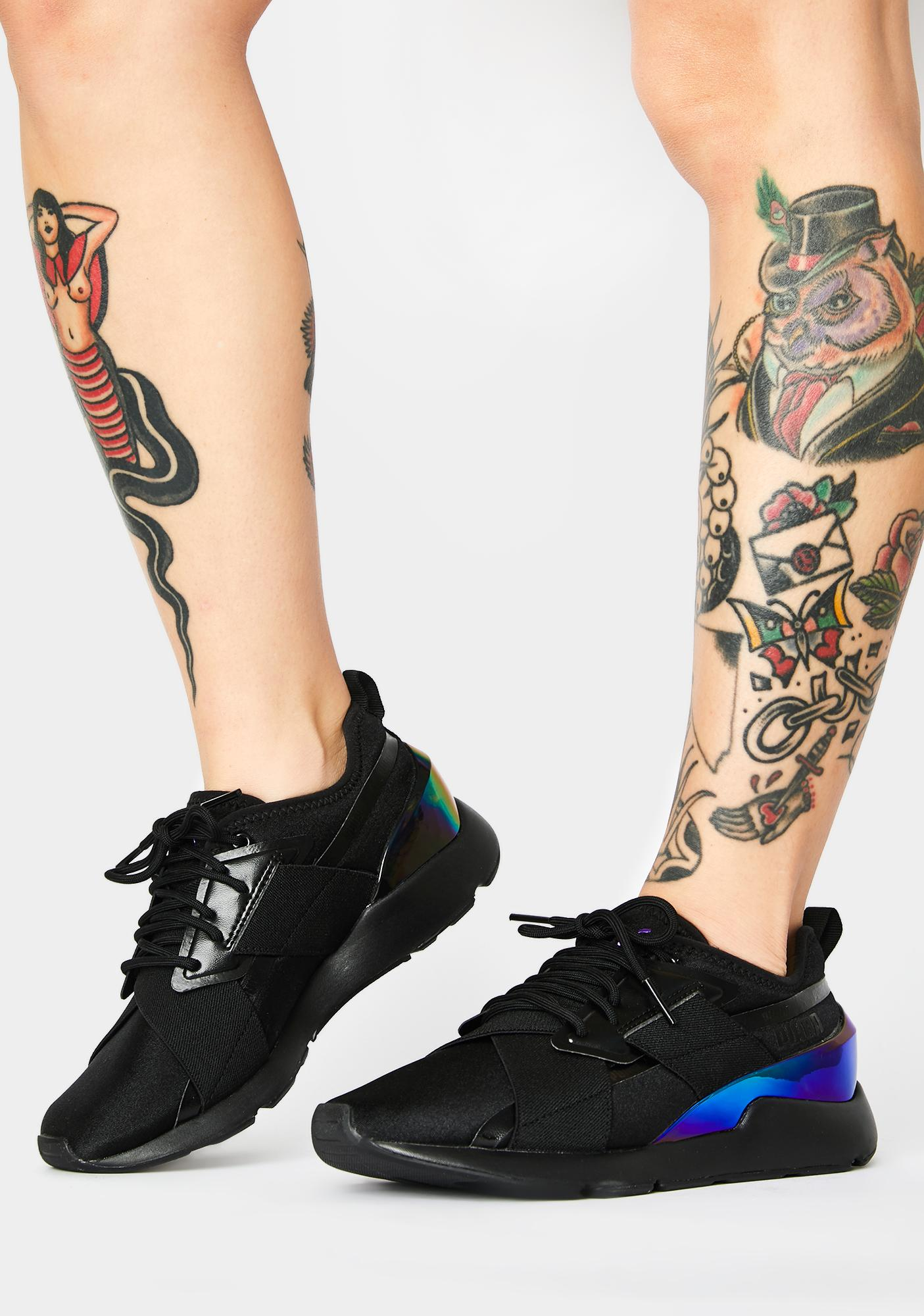 PUMA Muse X-2 Iridescent Sneakers