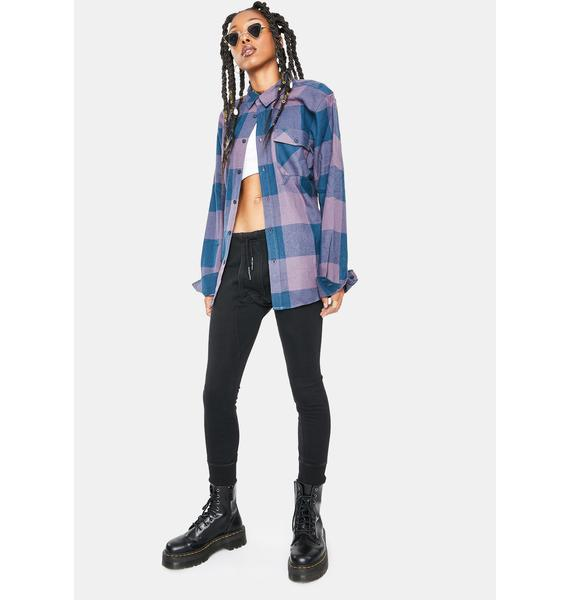 HUF Heights Long Sleeve Flannel