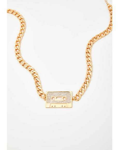Mixtape Mami Chain Necklace